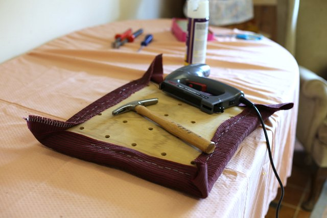 Upholstery Course Retrorecyclers Watton Norfolk