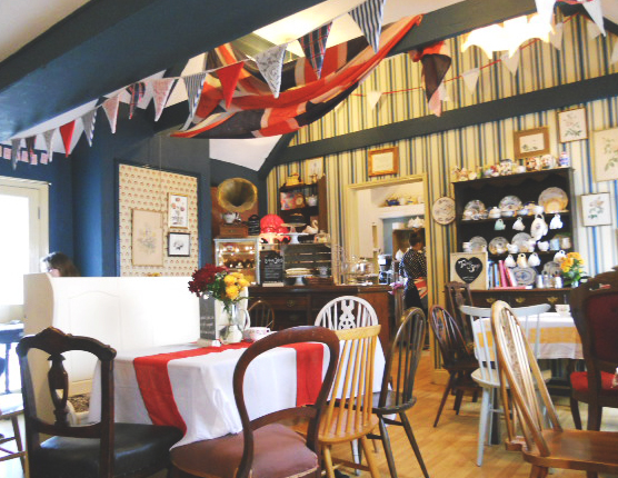 Lunch At Biddy S Tea Room In Norwich