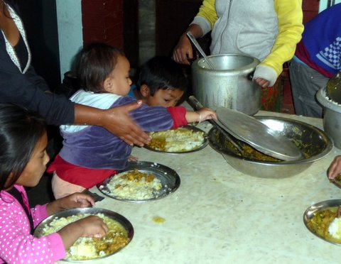 The Humanitarian Concern Centre (HCC) an orphanage in Kathmandu in Nepal